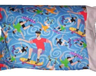 Skateboarder Pillowcase