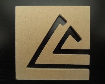 Pyramids in a square - Rico Design # 06955.00.02