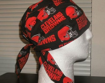 NFL Browns Do-Rags, Skull Cas, Chemo Caps, Headwear