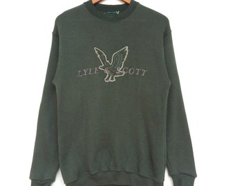 Lyle & Scott Big Spell Out Embroidery Logo Pullover Sweatshirts