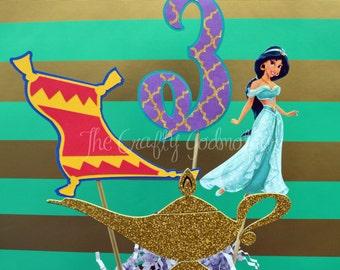 Printable Jasmine Birthday Invitations ~ Kara s party ideas colorful princess jasmine birthday party