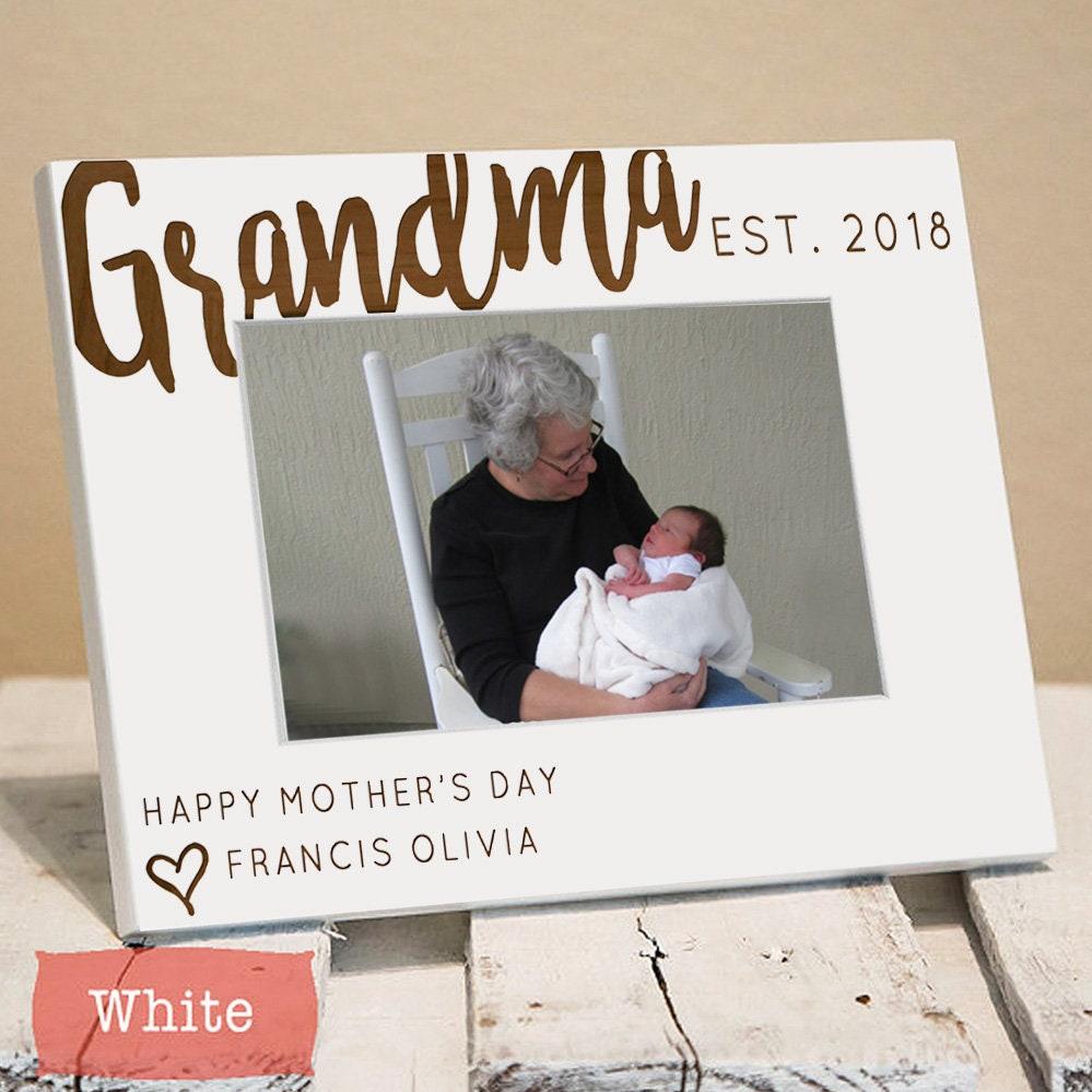 Geschenke für Oma personalisierte Bilderrahmen Oma