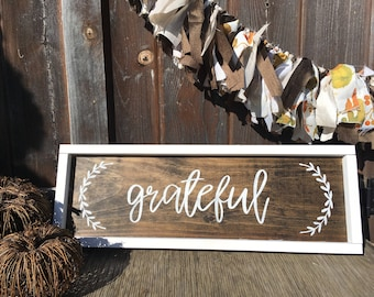Fall decor wood signs