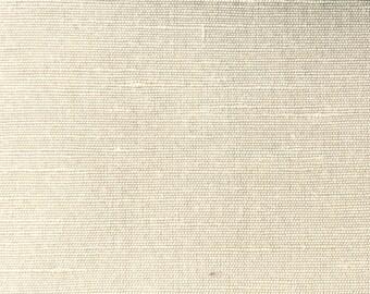 """BUTTERMILK - Pure Silk / Flax Linen Blend Fabric -  54"""" Wide"""