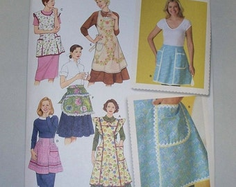 New Simplicity Apron Pattern 4282  (Free US Shipping)