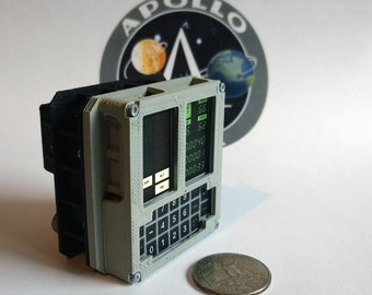 Mini Apollo DSKY module - 3D printed!
