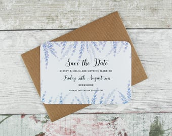 Save the Date Card, Wedding Save the Date Invites, Wedding invitations, Rustice Save the Date