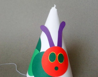 The Super Hungry Caterpillar Party Hats