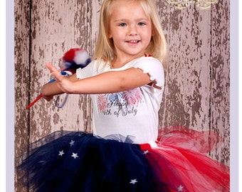 4th Of July Tutu Dress Set Toddler 4th Of July Outfit Girls Patriotic Outfit 4th Of July Toddler Dress 2T 3T 4T