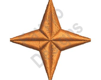 Christmas Star - Machine Embroidery Design