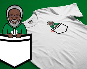 Uncle Drew BOSTON Caricature Fauxket Tee Kyrie