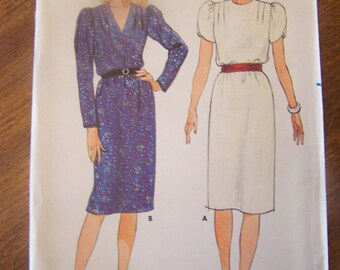 Butterick 6601, size 10, misses, womens UNCUT sewing pattern, dress