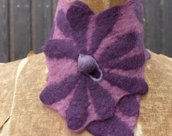 flower scarflette