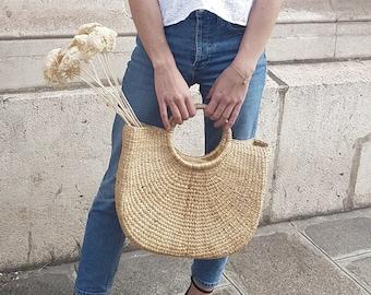 Backpack basket rattan + Totebag Pocket