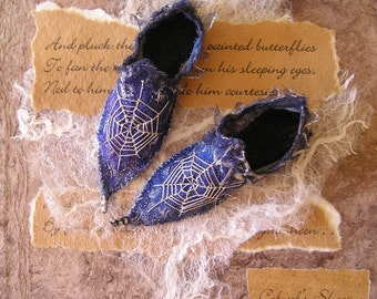 Fairy Shoes Pattern Downloadable pdf file.