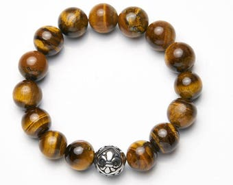 Mens Bracelet * Classic Tiger large */mens bracelet * Classic Tiger Large *