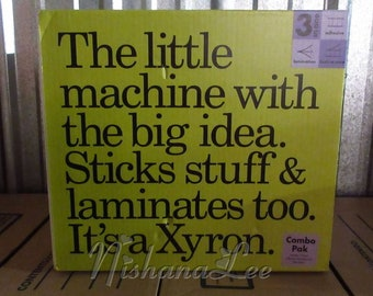 Xyron 850 System Laminator Application System 3 in 1 Sealed New in Box - SEE VIDEO