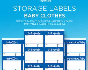 Printable Chalk Labels In Editable Template Set Of 4 Fancy