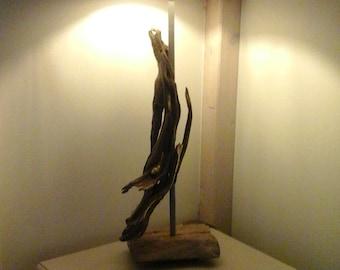 DRIFTWOOD Lamp # decoration # lighting # ownhandwork # Rustic Home Decor # Original Art
