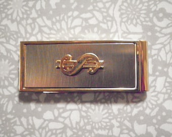 1 Goldplated Dollar Sign Money Clip