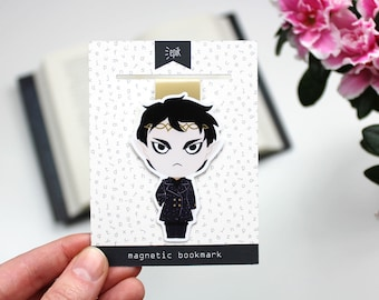 Cruel Prince - Magnetic bookmark (BIG) - Prince Cardan || the folk of the air,  faerie, jude, holly, cruel prince bookmark, lesezeichen