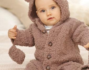 Knitting Pattern Baby snowflake chunky  sirdar 1774   size 0-2yrs  new