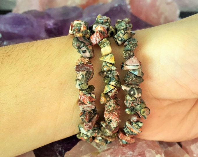 Jasper Healing Bracelet infused w/ Reiki