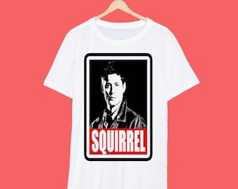 Dean Squirrel Redbox T Shirt