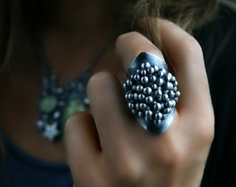 In Sparkling Paradise - Sterling Silver Ring