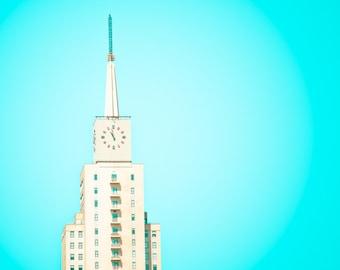 Dallas Texas - Art Deco - Building - Architecture - Fine Art Photograph - Mercantile National Bank