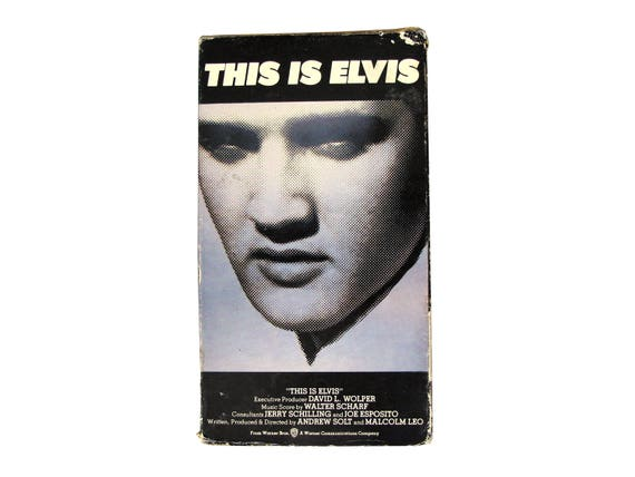 This is Elvis VHS
