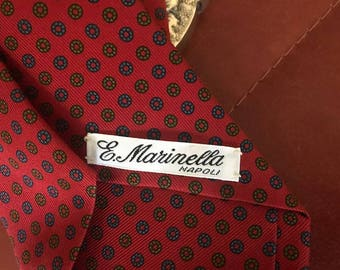 Tie MARINELLA - Naples- Made in Italy