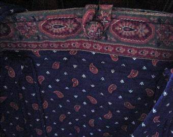 Vera Bradley Indiana Original Pattern Classic style Tote Excellent Minte Condition rare to find
