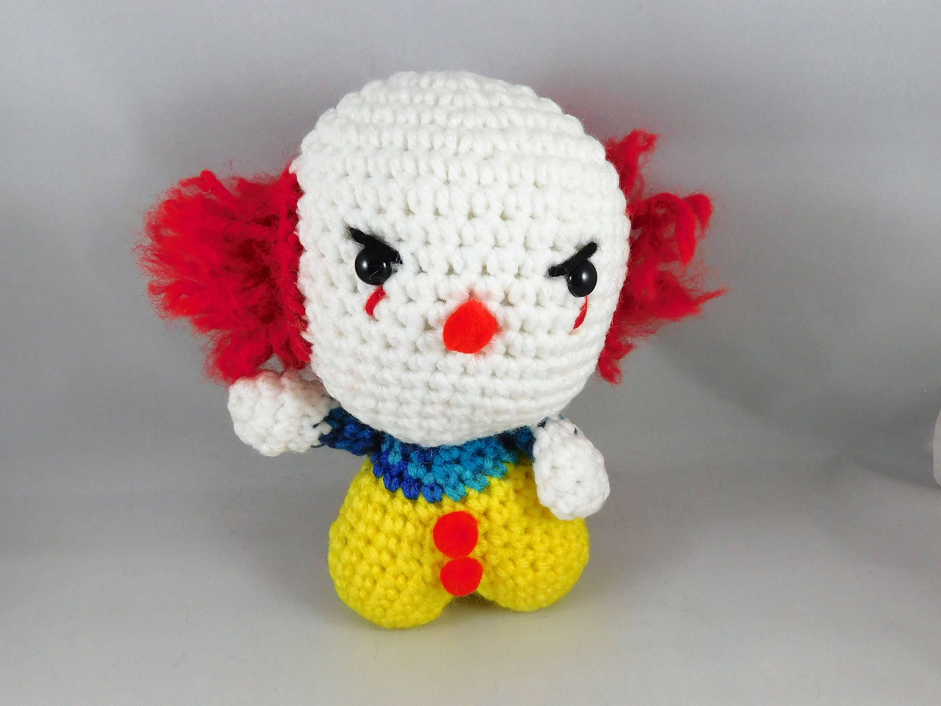 ES clown-Puppe Puppe Horror häkeln pennywise Scary Clown