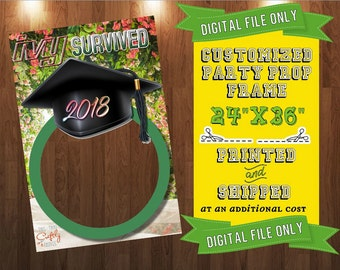 Customized Graduation Party Prop Frame