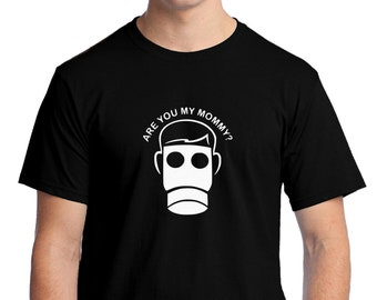 Doctor Who? Are you my Mommy? T-shirt Men Short Sleeve