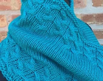 Hand Knit Xandi Cowl