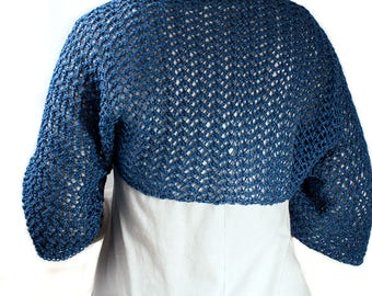 Crop Top Sweater Knitting Pattern - instruction on how to knit - GENUINE