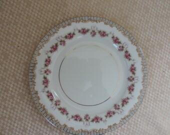 Noritake China 5201 Ridgewood 8 Salad Plates Vintage