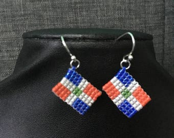 Earrings, Dominican Republic