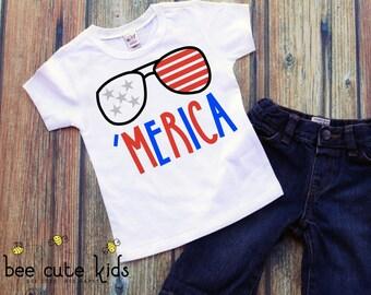 Boys July 4th Shirt - Patriotic Shirt - Kids July 4th Shirt - July 4th Shirt - Independence Day - Stars and Stripes - July 4th Boy -