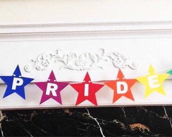 "6 Foot - Pride Star Banner - 4.5"" Star"