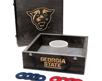Georgia State University Panthers Washer Game Set Onyx Stained