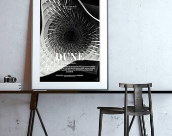 Dune (Frank Herbert) science fiction poster