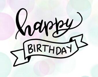 Birthday Banner - Happy Birthday card