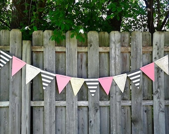 Triangle Paper Banner - You choose the colors!
