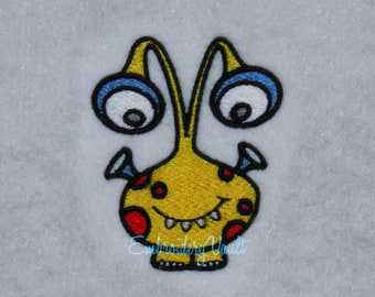Space, Alien, Monster #2 Embroidery design, Multiple Designs