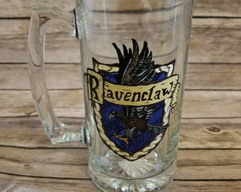 Harry Potter - Ravenclaw - Inspired hand painted steins