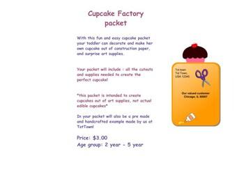 Decorate a cupcake surprise!