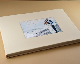 Wedding Albums/12X18 Acrylic Leather cover wedding album 20 pages - Florence